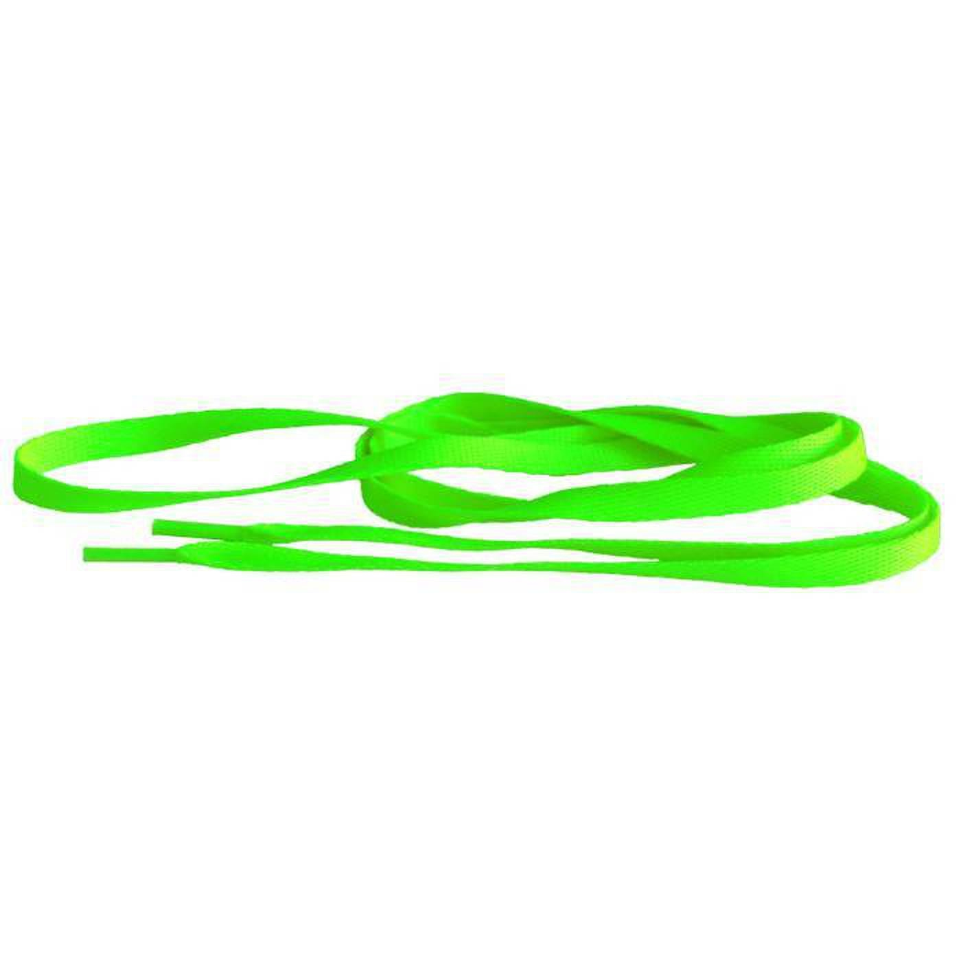 MD Tube Laces 140 neon green
