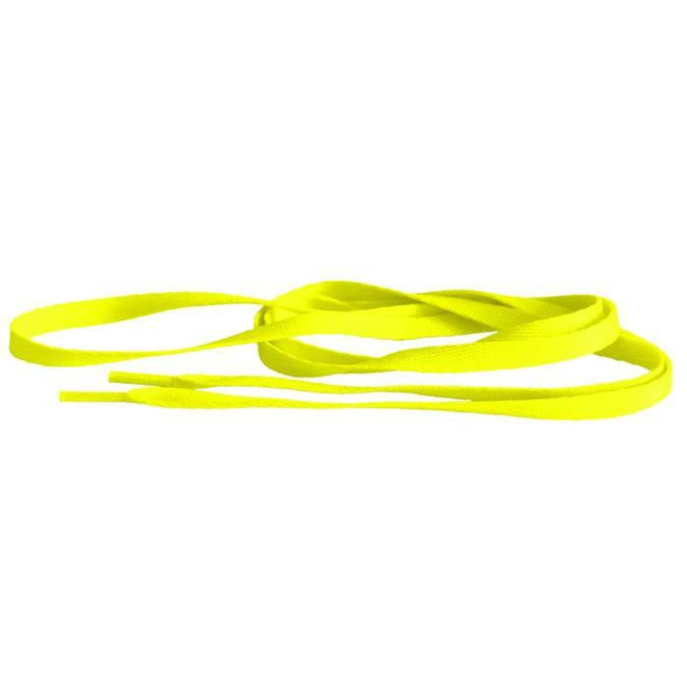 MD Tube Laces 140 neon gelb