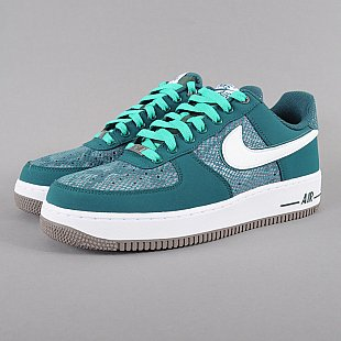 Nike Air Force 1 dk atomic teal / white - atmc teal