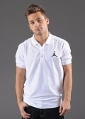 Jordan Jumpman Top To Bottom Polo bílé / černé