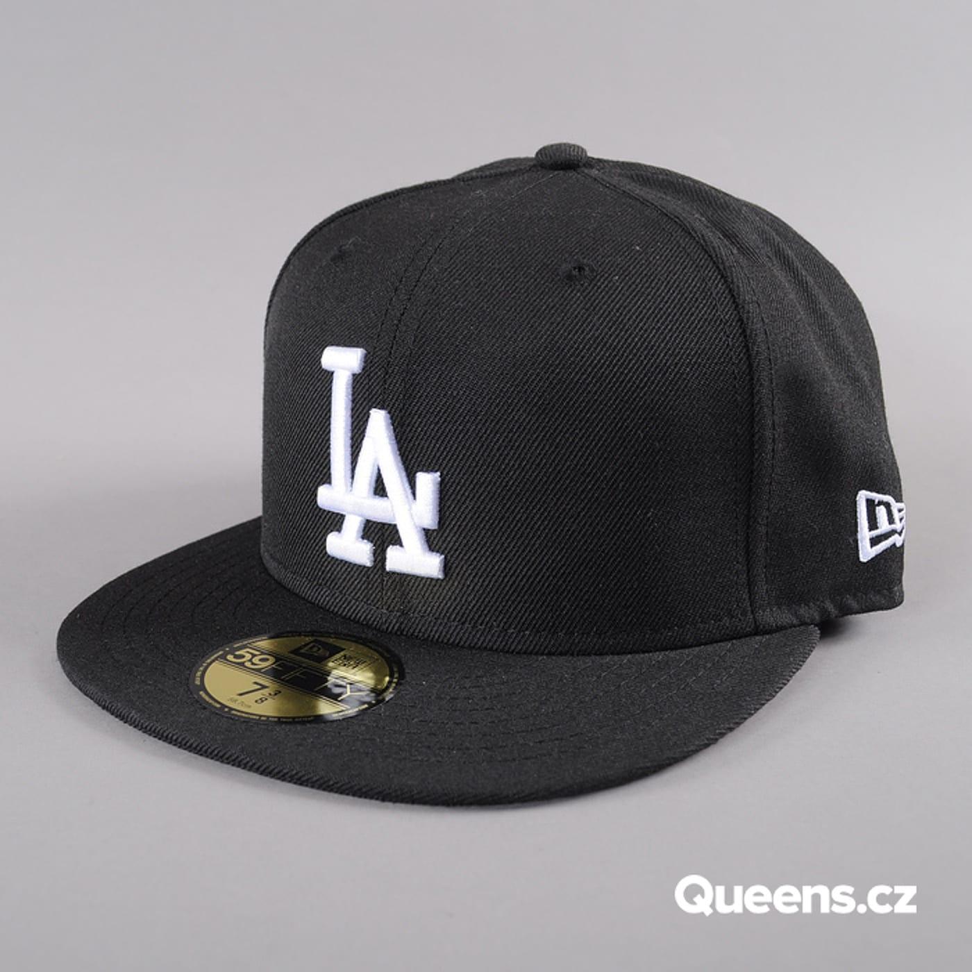 New Era MLB Basic LA schwarz / weiß