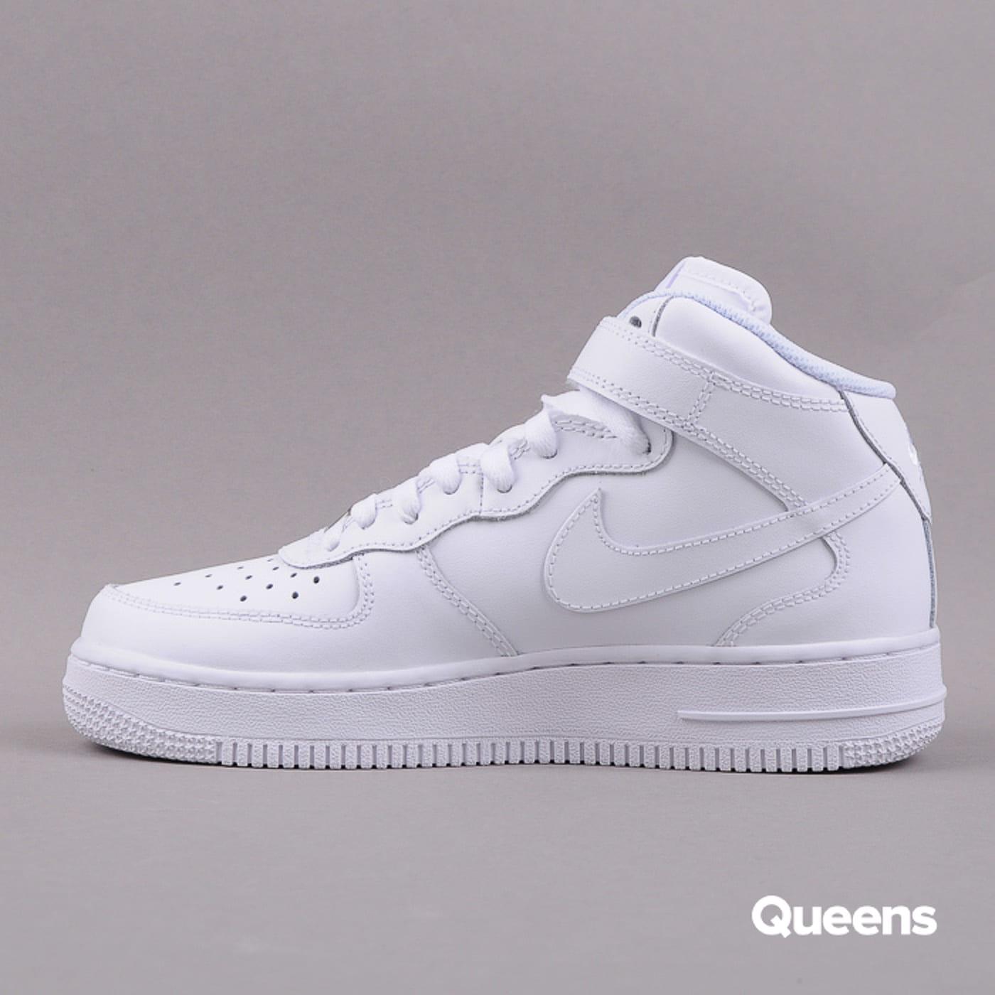 Nike Air Force 1 MID (GS) white / white