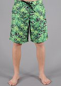 Space Monkeys Green Boardshort zelené / černé