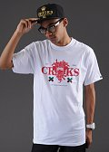 Crooks & Castles CRKS Shotty bílé