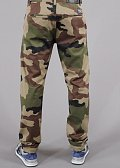 Backyard Cartel Label Chino Tapered Fit camo