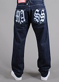 Mass DNM Valhalla Jeans raw blue