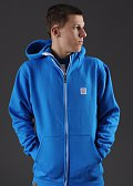 Mass DNM Base 13 Zip Hoody modrá