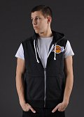 Mitchell & Ness Sleeveless Hoody LA Lakers tmavě šedá