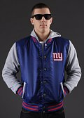 Majestic Avenue Fabric NY Giants modrá / šedá