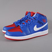 Jordan Air Jordan 1 MID (GS) game royal / gm ryl - gym rd - white