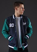 The Hundreds Recharged Jacket navy / tmavě zelená