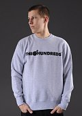 The Hundreds Forever Bar Crewneck šedá