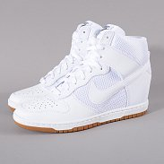 Nike WMNS Dunk Sky High Mesh white / white - black