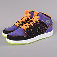 Jordan Air Jordan 1 Phat (GS) blk / crt prpl - vltg chrry - ttl or