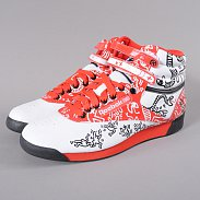 Reebok F/S Hi Int R12 white / black / techy red