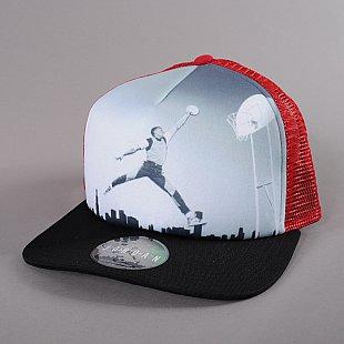 fca775b5174 Air Jordan Poster Mesh Snapback červená   černá   bílá   šedá