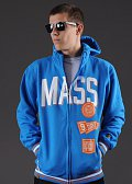 Mass DNM Winner Zip Hoody modrá