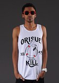 Orisue Hard To Kill Tanktop bílé