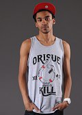Orisue Hard To Kill Tanktop šedé