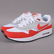 Nike Air Max 1 (GS) white / pimento - black - ntrl grey