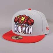 New Era / Marvel Heroic Title Ironman šedá / červená