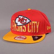 New Era NFL Draft Kansas City Chiefs červená / žlutá