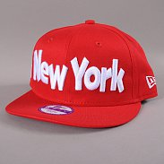 New Era Kids Clean Wordmark New York Yankees červená / bílá