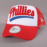 New Era Fresh 2 Trucker Philadelphia Phillies červená / bílá