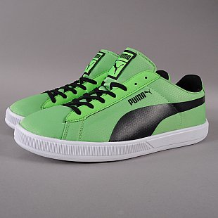 Puma Archive Lite Low BRST RT fluo green / black - white