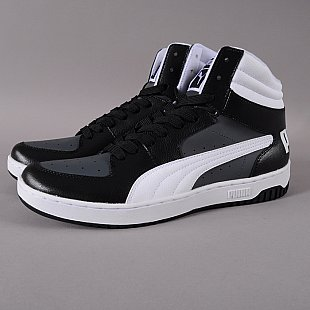 Puma Full Court 2.0 Hi black / white - dark shadow