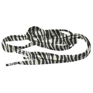 MD Tube Laces Special Flat 120 Zebra