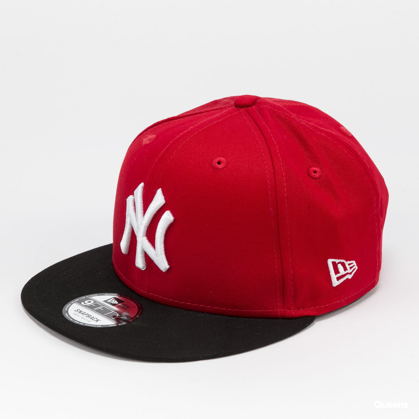 New Era 950 Cotton Block NY C/O rot / schwarz / weiß