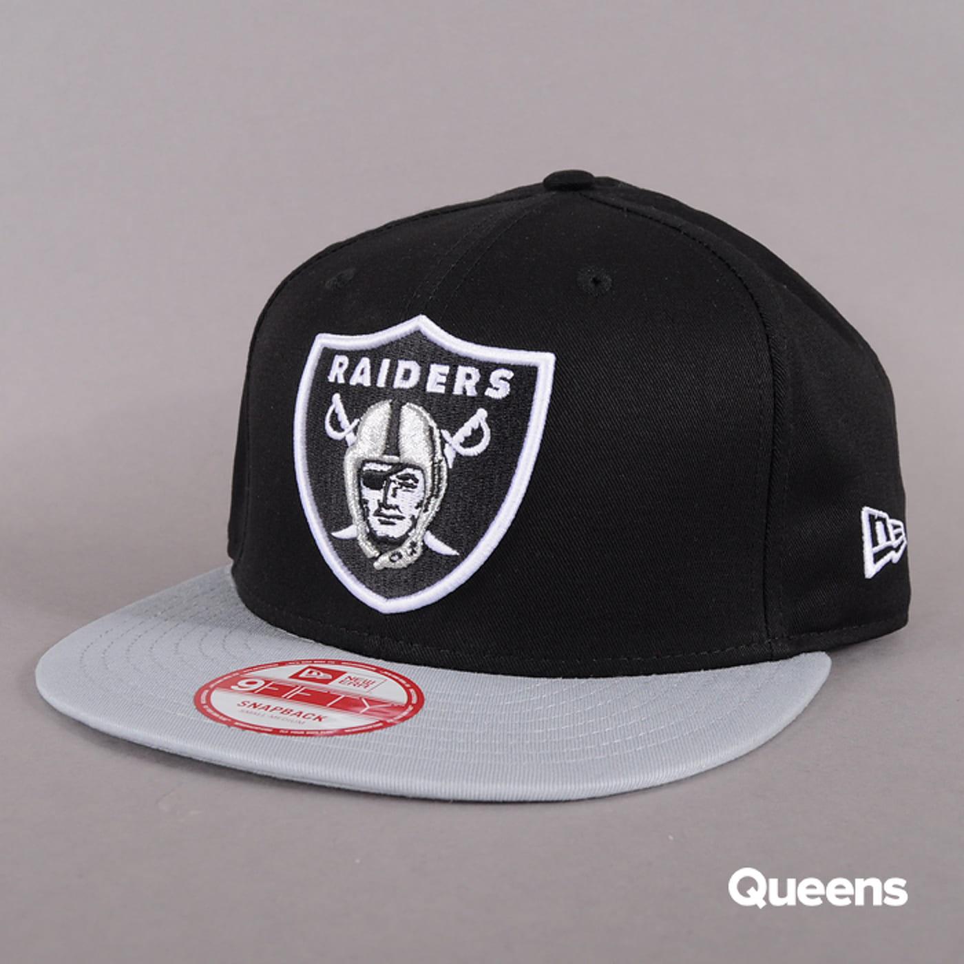 New Era Cotton Block Oakland Raiders C/O čierna / šedá