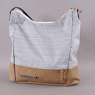 Adidas Casual Hobo Bag Melange Navy Světle Hnědá