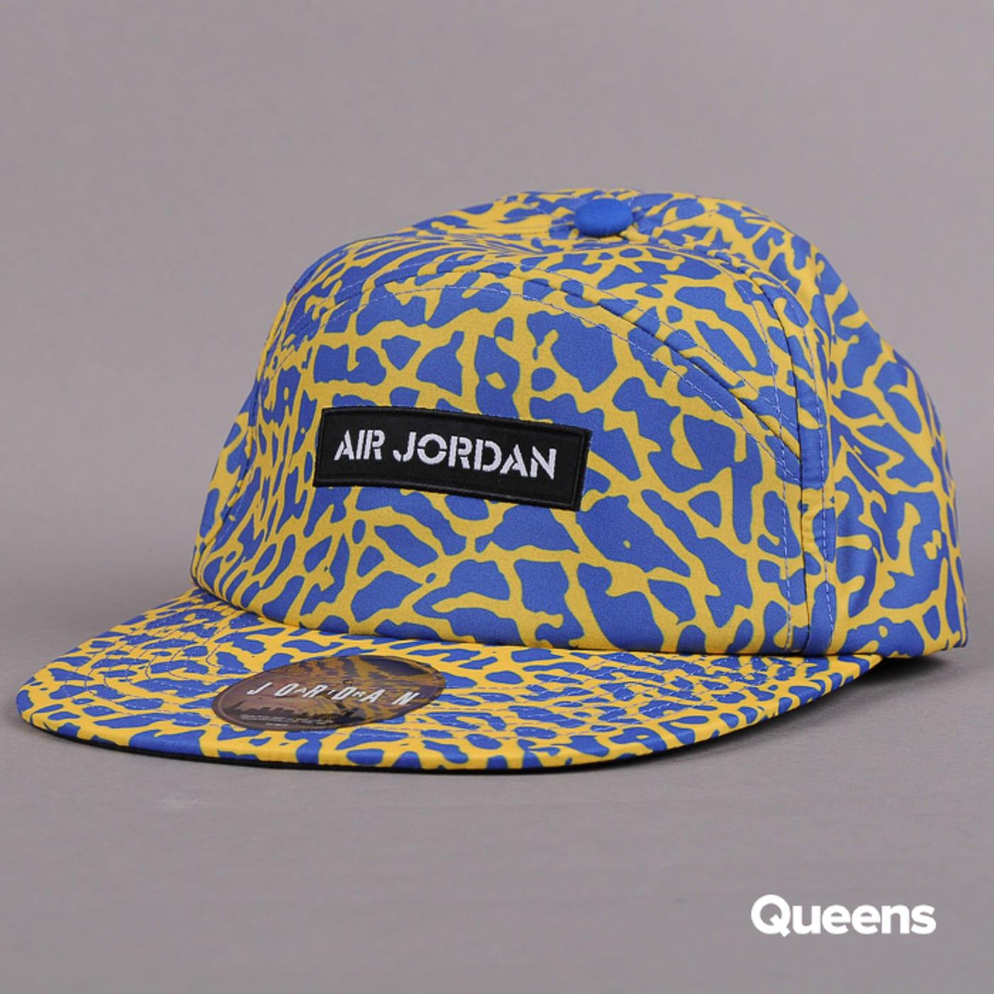 Jordan Legacy Buckleback IC žlutá / tmavě modrá / černá