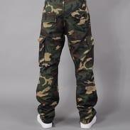 Urban Classics Camouflage Cargo Pants camo zelené