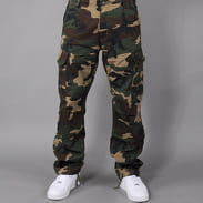 Urban Classics Camouflage Cargo Pants camo green