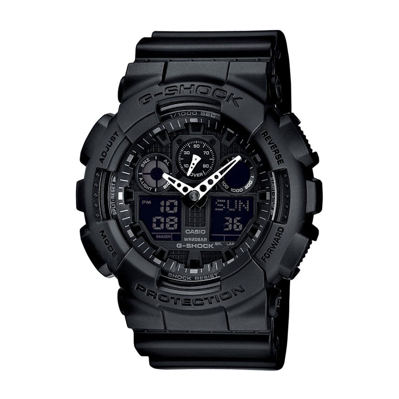 Casio G-Shock GA 100-1A1ER schwarz