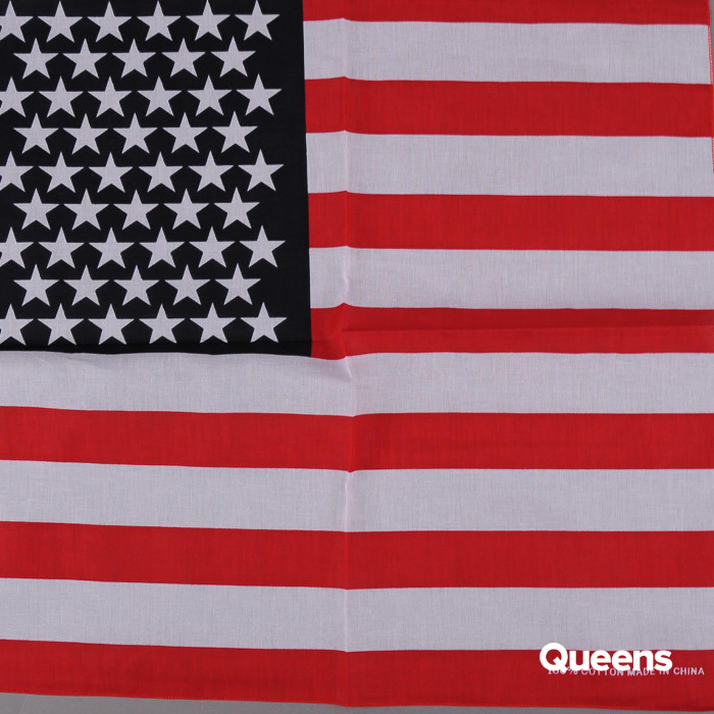MD Bandana Stars & Stripes white / red / navy