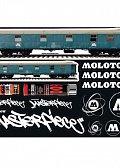 Molotow Sada nálepek #02 trains tags