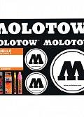 Molotow Sada nálepek #03 rounds