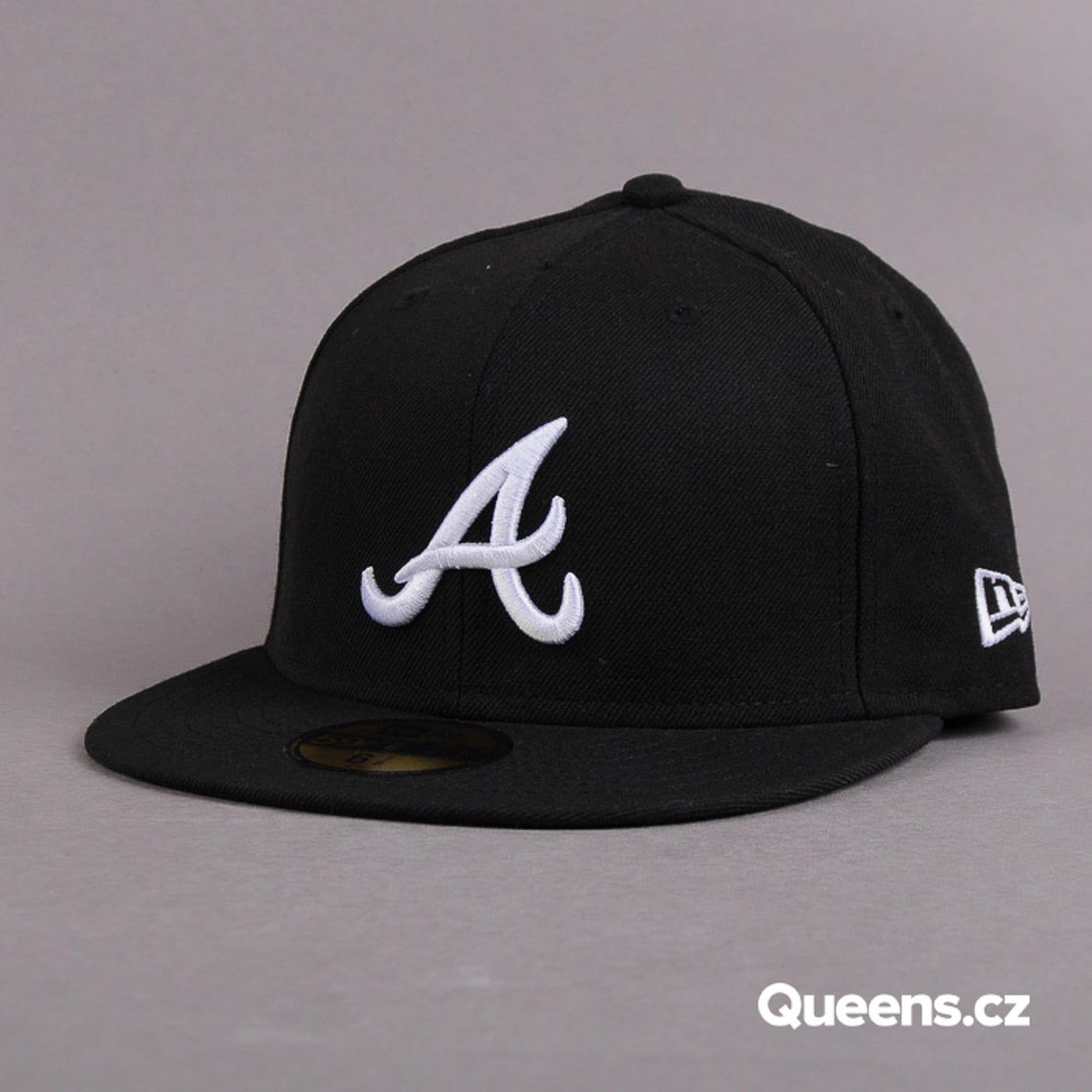 New Era MLB Basic A schwarz / weiß