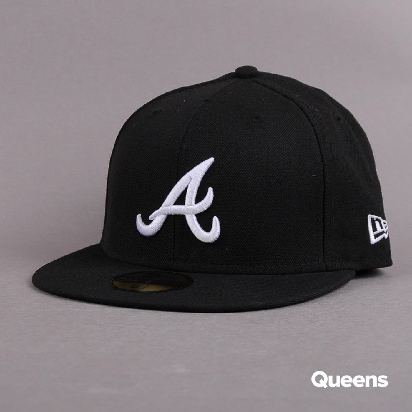 New Era 5950 MLB Basic A schwarz / weiß