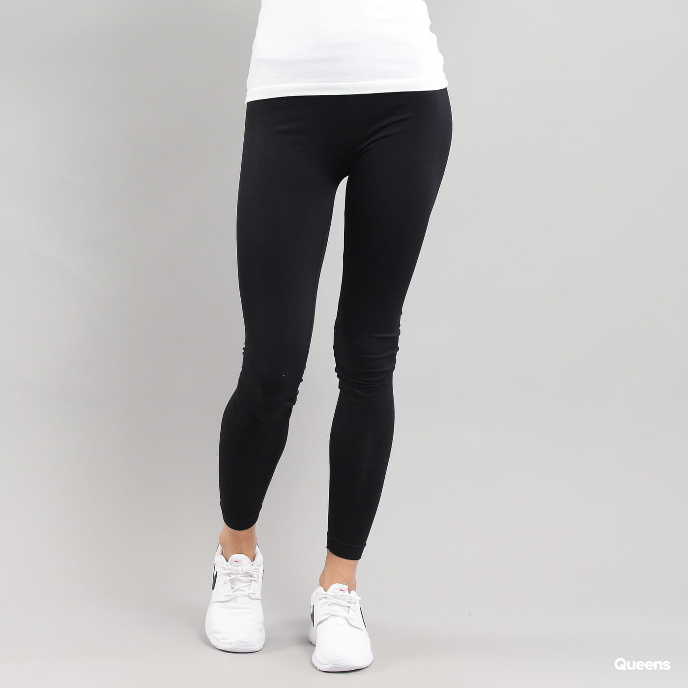 Urban Classics Ladies PA Leggings čierne
