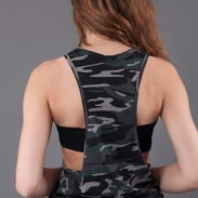 Urban Classics Ladies Camo Loose Tank camo gray