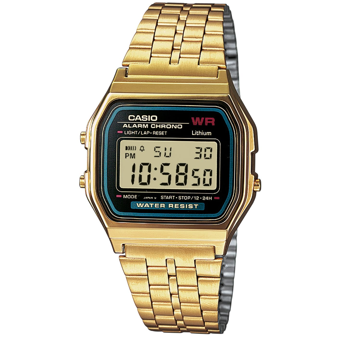 Casio A159WGEA-1EF golden