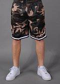 Urban Classics Camo Stripes Mesh Shorts