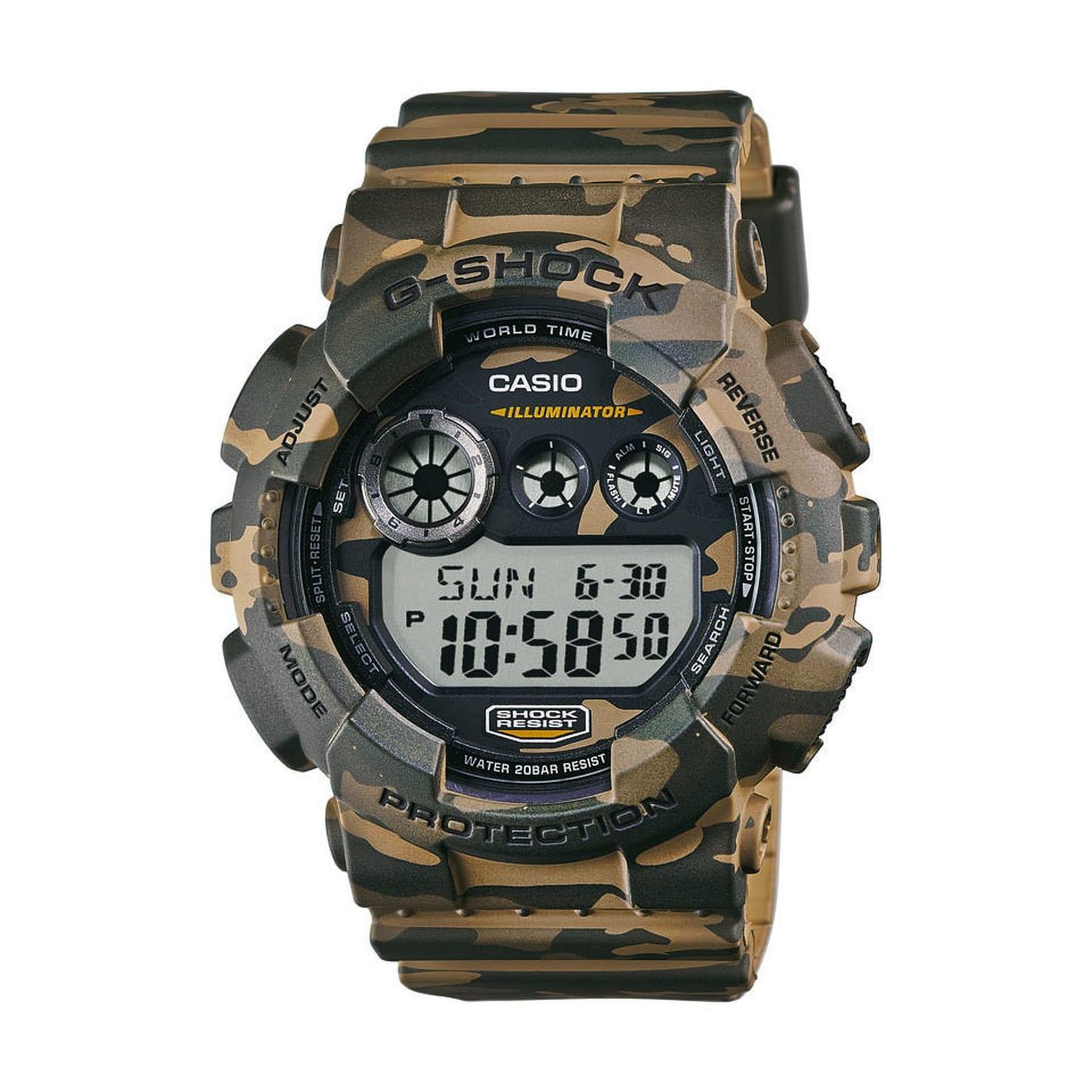Casio G-Shock GD 120CM-5ER PL hnedé camo