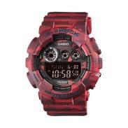 Casio G-Shock GD 120CM-4ER PL červené camo