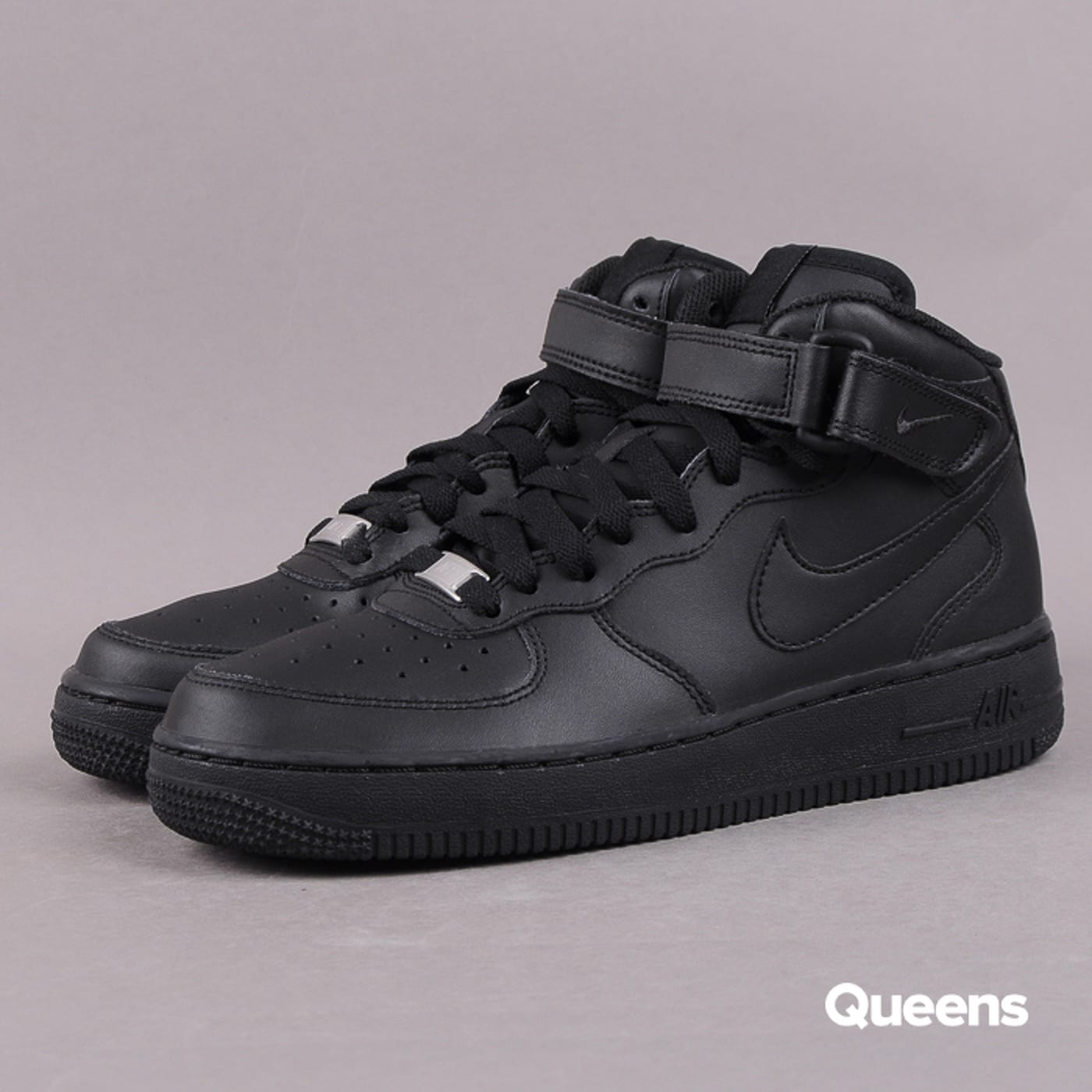 Nike Air Force 1 MID (GS) black / black